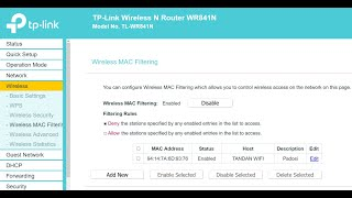 How to Block Someone From Using Your WIFI TP-Link Router