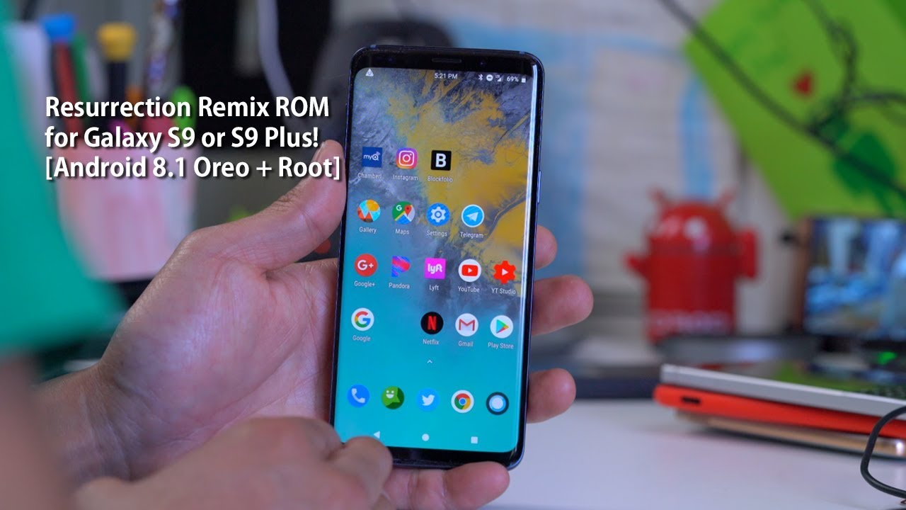 Resurrection Remix ROM for Galaxy S9 or S9 Plus! [Android
