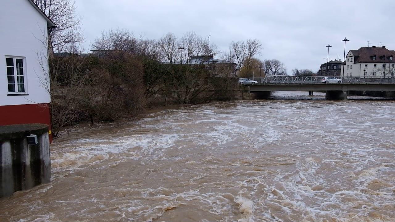 Download Hochwasser in Fürth, Januar 2018