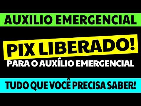 PIX LIBERADO! AUXÍLIO EMERGENCIAL 2021