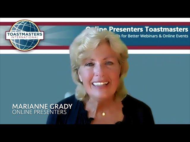Video Challenge for Online Presenters
