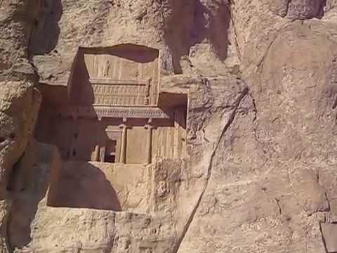 Naqsh-e Rustam Persepolis Fars Iran  نقش رستم