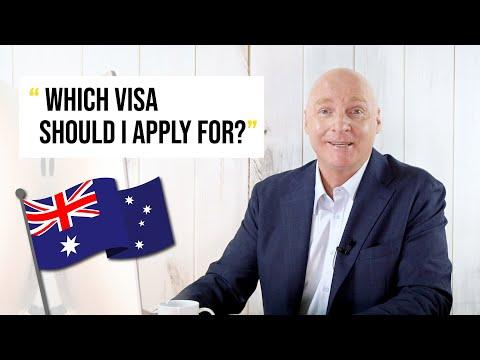 Which Visa Should I Apply For? Australia