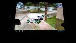 GTA Vice City gameplay on Asus Transformer tf300t
