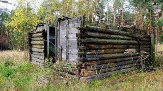 Der Bunker unterm Holzhaus