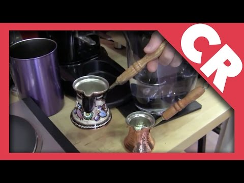 Crew Review: Turkish Coffee Equipment
