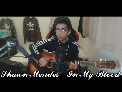 Shawn Mendes - In My Blood Cover By Brian Mendoza