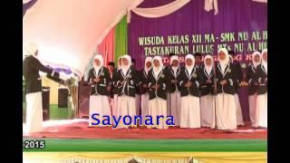 Video Lagu Sayonara MTs/MA/SMK NU AL HIDAYAH download MP3, 3GP, MP4, WEBM, AVI, FLV Juni 2018