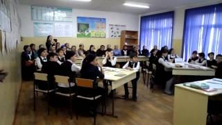 Дурдиева Яхмат Хусейновна - открытый урок