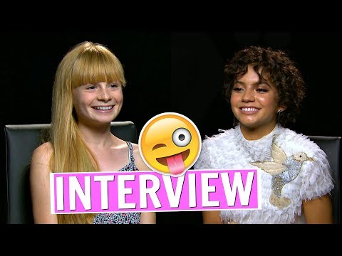 FUN INTERVIEW WITH ISABELA MONER TRANSFORMERS 5 STAR❤ Mia's Life ❤