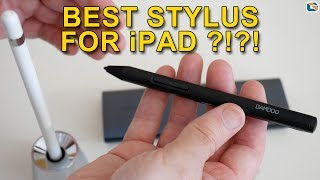 Wacom Bamboo Sketch Review vs Apple Pencil