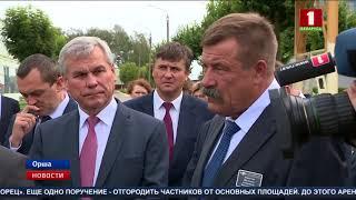 Продолжается рабочая поездка Президента Беларуси по Витебской области