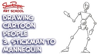 How to turn Stickmen drawings Into Mannequins