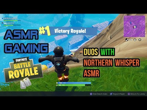 ASMR Gaming | Fortnite Duos With Northernwhisper ASMR (22nd Win) ★Controller Sounds + Whispering☆