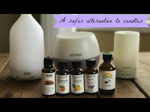 my-essential-oils-&-diffusers-|-why-i-don't-burn-candles-|-amir-essential-oil-diffuser-|-innogear