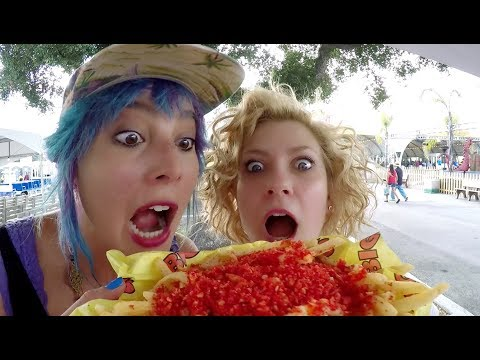 We Try the Weirdest Foods at the LA County Fair