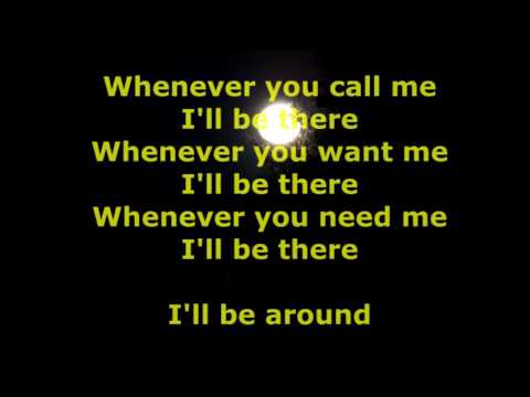 I'll Be Around -  The Spinners - with lyrics