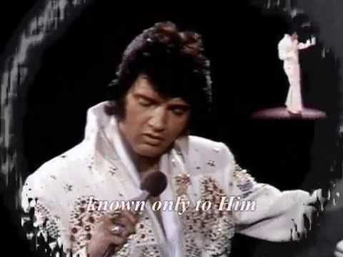 Elvis Presley - Known Only To Him -  with lyrics