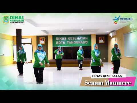 Senam MAUMERE Dinas Kesehatan Kota Tangerang