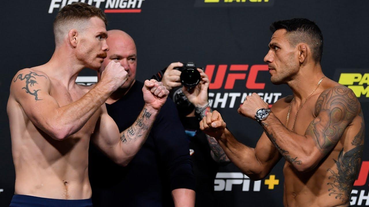 UFC Vegas 14: Weigh-in Faceoffs