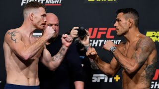 UFC Vegas 14: Weigh-in Faceoffs