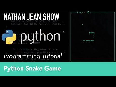 Python Tutorial: Snake Game With Curses