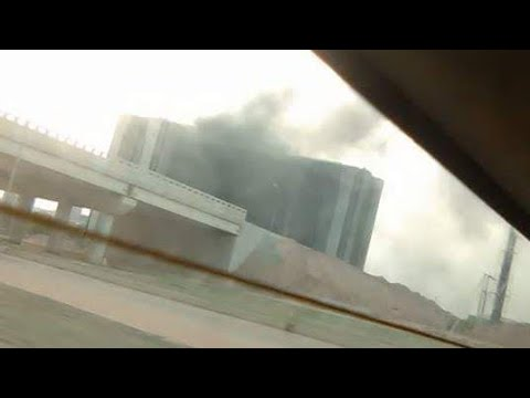 breaking!! CBN ON FIRE! Central Bank Of Nigeria On Fire!