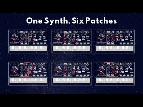 Volca Modular Only: Short Song with Six Patches
