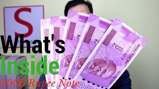 What's Inside Rs. 2000 Note | Powerpack Review First of its kind | Sharmaji Technical