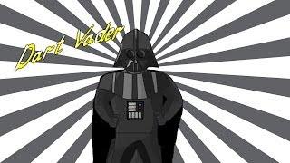 Дарт Вейдер мультфильм, Доктор Октавиус и Мистер Фантастик играют в твистер (Супергеройский скетч)