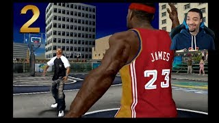 NBA Ballers Phenom Story Mode Part 2 - LeBron James Challenge!