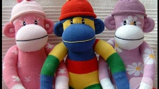 Çoraptan Oyuncak Maymun Yapımı / KENDİN YAP / DIY Stuffed Toys #tençoraptanbebek