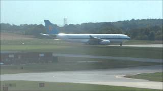 Inaugaral China Southern Flight at Birmingham Airport - 22nd July 2014