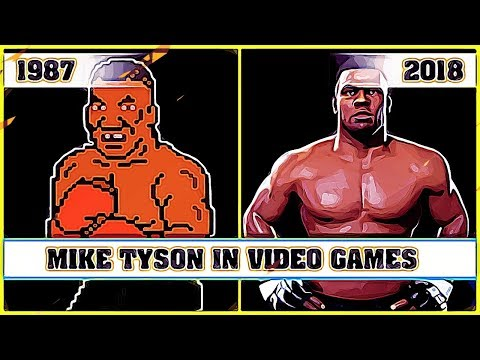 MIKE TYSON the evolution in video games
