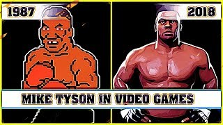 MIKE TYSON, the evolution in video games [1987 - 2018]