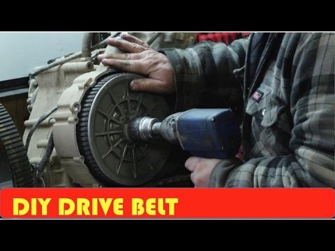 How To Change Arctic Cat Drive Belt 650h1
