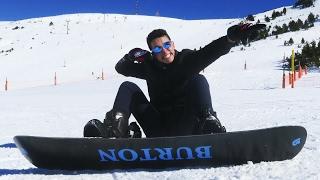 ¡MI PRIMERA VEZ HACIENDO SNOW! - TheGrefg