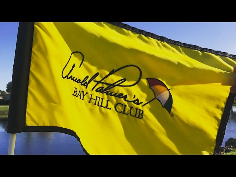 THE AMAZING ARNOLD PALMER'S BAY HILL GOLF CLUB VLOG
