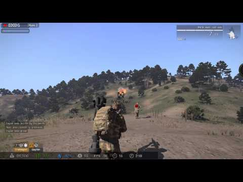 Blowing fuel truck up - ARMA 3