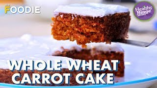Whole Wheat Carrot Cake  Soft &amp Moist Pressure Cooker Cake Recipe  The Foodie