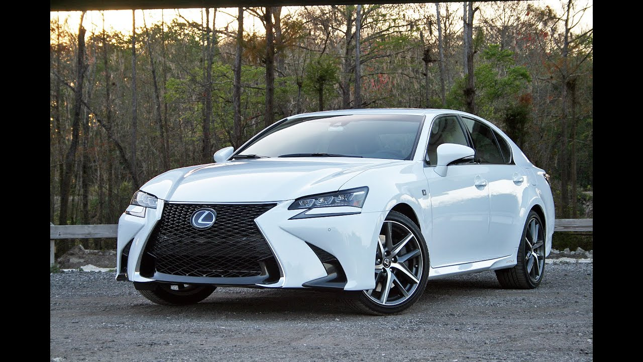 2016 Lexus Gs 450h Driven