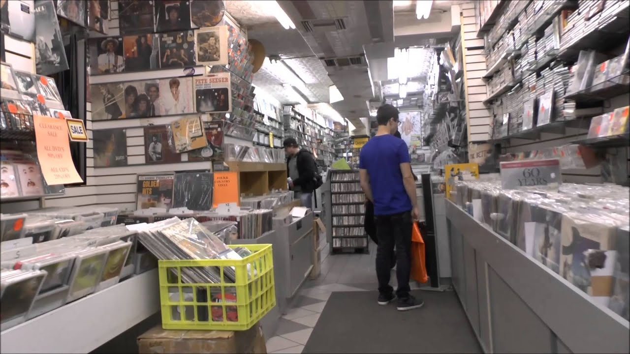 record store day 2013 nyc village music world youtube. Black Bedroom Furniture Sets. Home Design Ideas