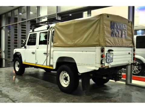 2012 LAND ROVER DEFENDER 130 CREWCAB HCPU E PACKAGE WITH ROOF RACKS