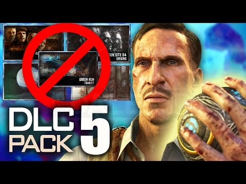 BO3 ZOMBIES DLC 5: THE 5 MAPS THAT SHOULDN'T BE REMADE! (Black Ops 3 Zombies Chronicles)