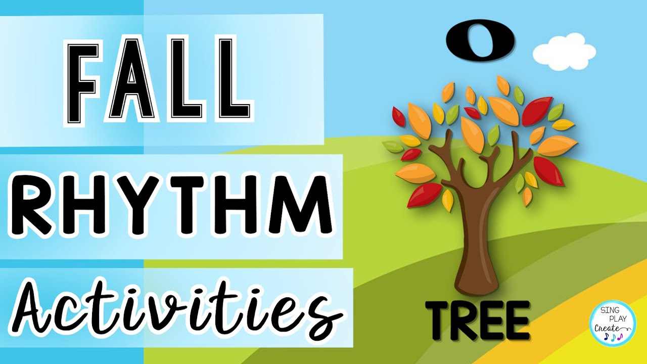 Fall Rhythm Music Lesson ? Fall Rhythm Activity ?Elementary Music Class Activities ?Sing Play Create