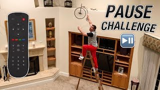 PAUSE CHALLENGE WITH MY WIFE...