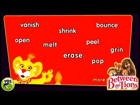 ♡ Between The Lions - Word Play (Read Simple) Fun Educational Game For Kids English