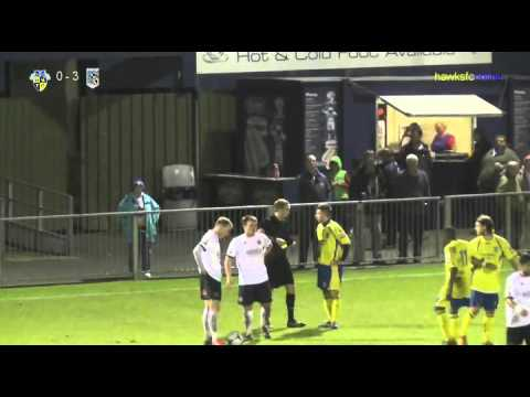 Havant & Waterlooville v Maidenhead April 2014  Goals & reaction