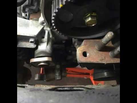 When To Change Timing Belt >> Kia Picanto Timing Belt Replace - YouTube