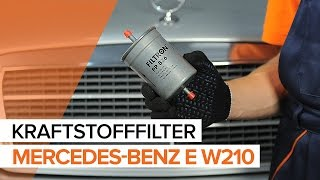 Montage MERCEDES-BENZ E-CLASS (W210) Stoßdämpfer Satz: kostenloses Video
